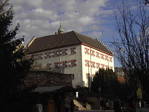 Waldshut-Tiengen - The Castle of Tiengen