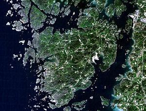 Tjörn - Image: Tjörn NASA