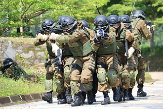 Indonesian Army - Soldiers from Kostrad