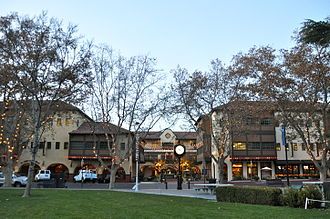 Concord, California - Todo Santos Plaza is downtown