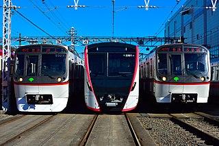 Toei Asakusa Line subway line in Tokyo, Japan