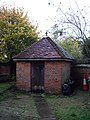 Toilet in churchyard of Parish Church of St Mary Dedham - geograph.org.uk - 1554518.jpg