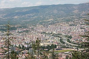 Tokat - Yeşilırmak River (Yeşilırmak) and Tokat views.