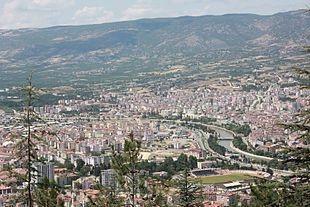 """<a href=""""http://search.lycos.com/web/?_z=0&q=%22Ye%C5%9Fil%C4%B1rmak%20River%22"""">Yeşilırmak River</a> (Yeşilırmak) and Tokat views."""