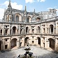 Tomar-Convento de Cristo-Claustro dos Felipes-Igreja-20140914.jpg