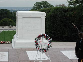 Memorial Day - The Tomb of the Unknowns located in Arlington National Cemetery