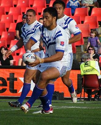 Tony Puletua - Puletua playing for Samoa