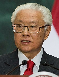 Tony Tan 7th President of the Republic of Singapore