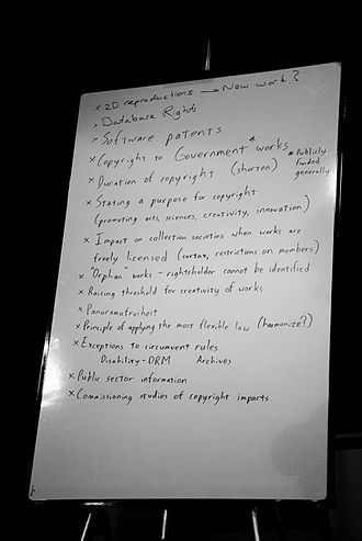 Lobbying - Wikimania 2009, results of the discussion about possible contents of European lobbying