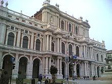 Palacio carignano wikipedia la enciclopedia libre for Palazzo parlamento italiano