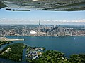 Toronto from airplane 2010.jpg