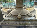 Tortoise Holding Lamp Guruvayur.JPG