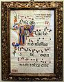 Toscana, iniziale F con san giovanni battista, xiv secolo 01.JPG