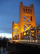 Tower Bridge, Sacramento CA
