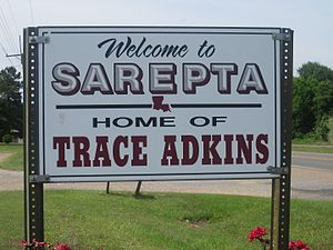 Trace Adkins - Sarepta, Louisiana, honors its home-town celebrity, Trace Adkins