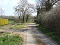 Tracks meet near Oak's Farm - geograph.org.uk - 397209.jpg