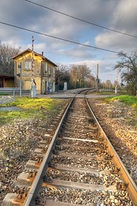Train Station - Pratissolo, Scandiano, Reggio Emilia, Italy - December 2, 2012 01.jpg