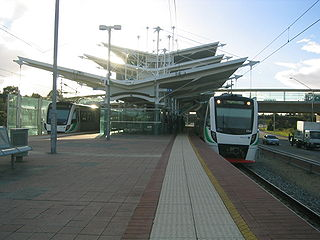 Stirling railway station, Perth railway station in Perth, Western Australia