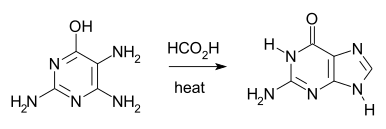 Traube purine synthesis