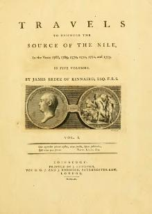 Travels to Discover the Source of the Nile - In the Years 1768, 1769, 1770, 1771, 1772, and 1773 volume 1.djvu