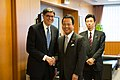 Treasury Secretary Lew Greets Japan's Economy Minister Amari (10814522326).jpg