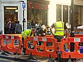 Tree pit preparation on Great Portland Street (600th Tree) - panoramio.jpg