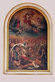 Treis, ehem. Pfarrkirche - Gemälde Jüngstes Gericht (2020-09-20 Sp).jpg