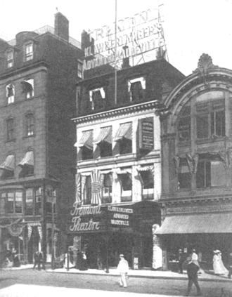Tremont Theatre, Boston (1889) - Tremont Theatre, Boston, ca.1910s