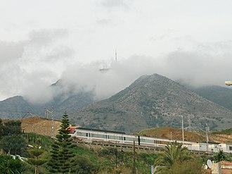 Cercanías Málaga - Image: Tren de cercanías Málaga Fuengirola