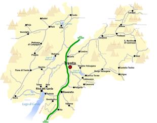 Cartina Stradale Del Trentino Alto Adige.Provincia Autonoma Di Trento Wikipedia
