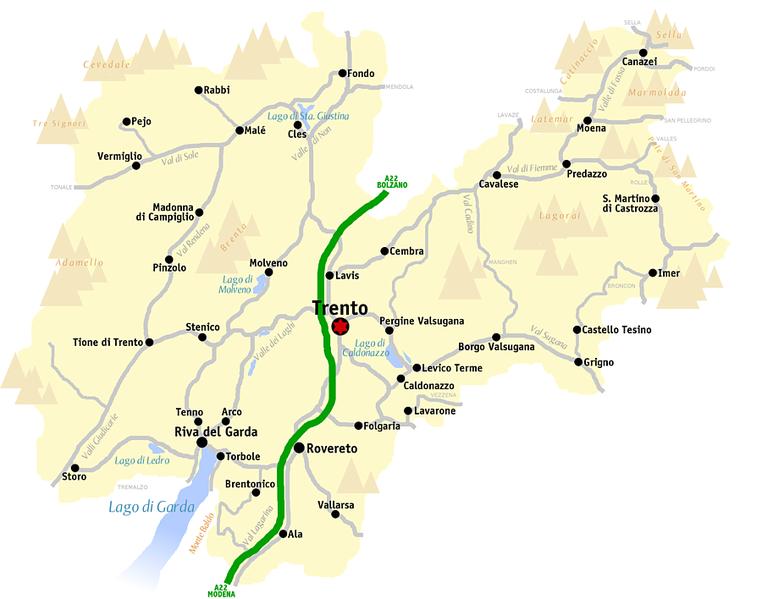Cartina Trentino.File Trento Mappa Png Wikipedia