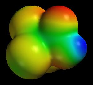 Trichloroacetic acid - Image: Trichloroacetic acid elpot