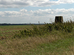 Fawley, Berkshire - Trig point in the south of the civil parish
