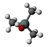 Trimethylsilanol (structure).png