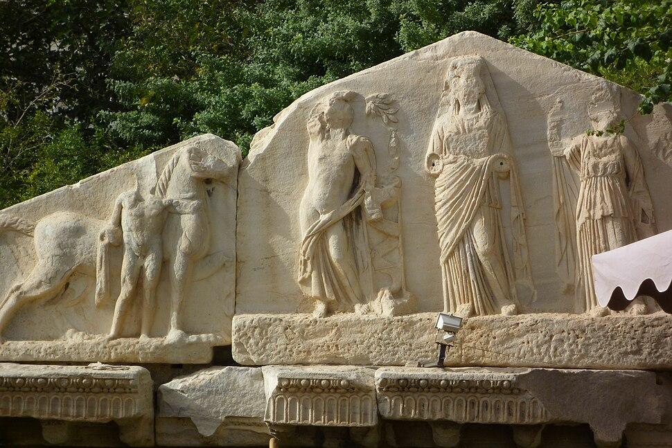 Tripoli - Fragment Tempel Genius Coloniae