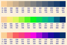 D grad de couleurs wikip dia - Couleur complementaire du gris ...