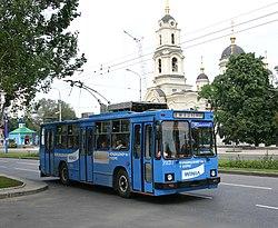 Троллейбус в Донецке, Украина