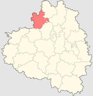 Aleksinsky District - Image: Tulskaya oblast Alexinsky rayon