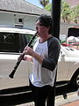 Tumblers at Pride 2010 clarinet.JPG