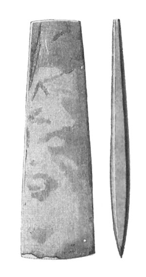 Wetland deposits in Scandinavia - Flint axes were often deposited in wetlands in the Neolithic