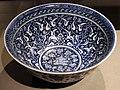 Turchia, iznik, bacinella con decoro rumi-hatayi, 1480 ca. 01.JPG