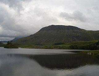 Tyrrau Mawr mountain in United Kingdom