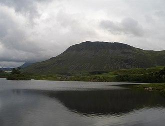 Tyrrau Mawr - Tyrrau Mawr from Llyn Cregennen