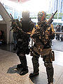 Tyson Rios & Elliot Salem cosplayers at WonderCon 2010 1.JPG