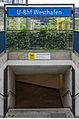 U-Bahnhof Westhafen, Entry 20130616 3.jpg