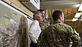 U.S. Sen. Bob Corker of Tennessee, left, receives a briefing on the NATO Special Operations Component Command-Afghanistan (NSOCC-A) Joint Operation Center July 7, 2013, at Camp Integrity, Afghanistan 130707-N-QV903-017.jpg