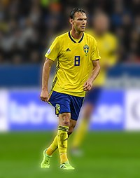 UEFA EURO qualifiers Sweden vs Spain 20191015 Albin Ekdal 101.jpg