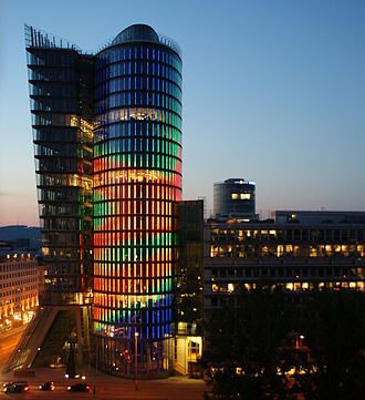 Uniqa Insurance Group - The UNIQA Tower, the company's headquarters.
