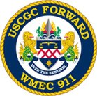 USCGC Forward (WMEC-911) Crest.