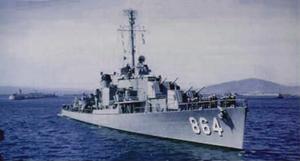USS Harold J. Ellison (DD-864), circa in the late 1940s
